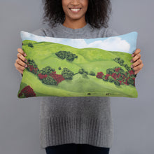 Load image into Gallery viewer, Decorative Pillow - Sonoma Hills in winter -  FREE SHIPPING