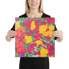 Load image into Gallery viewer, Canvas Print - Rose Garden - FREE SHIPPING