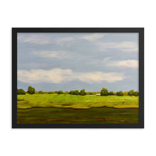 Load image into Gallery viewer, Framed poster - Sonoma Skaggs Island farm