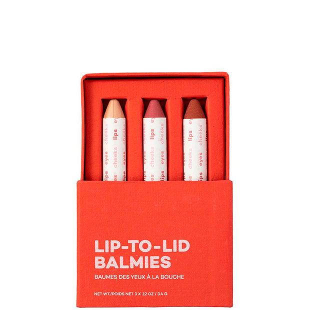 Lip-to-Lid Balmie Set Of the Earth, 10.2g - NUMS | Naturkosmetik & Clean Beauty | online kaufen