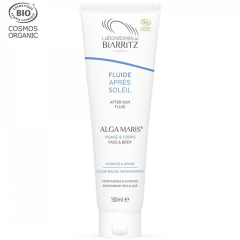 Alga Maris | Bio-Zertifiziertes  After-Sun Fluid, 150ml | FACE: SUN & AFTERSUN | Laboratoires De Biarritz | online kaufen bei Nums