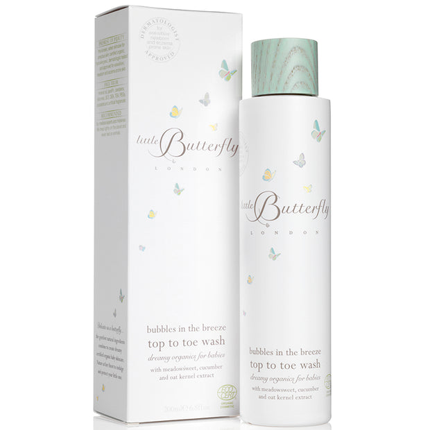 bubbles in the breeze Baby Top To Toe Wash - NUMS | Naturkosmetik & Clean Beauty | online kaufen