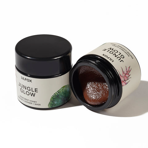 Jungle Glow Rainforest Honey Enzyme Cleanser + Mask