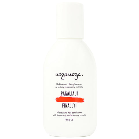 Finally! - Moisturising Conditioner for every day use 250 ml - NUMS