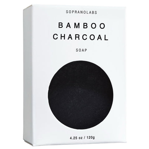 Bamboo Charcoal Vegan Soap - NUMS | Naturkosmetik & Clean Beauty | online kaufen