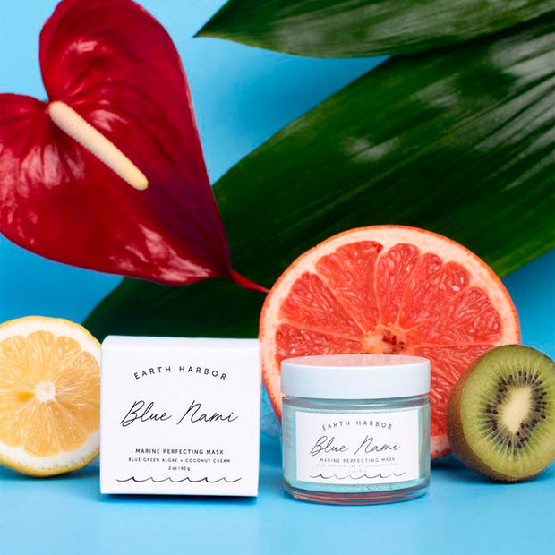 Blue Nami/Crush Marine Perfecting Mask - NUMS | Naturkosmetik & Clean Beauty | online kaufen