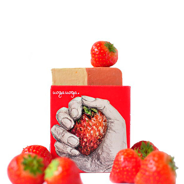 Ciao Strawberry! - Soap with Strawberry Extract 100 g - NUMS | Naturkosmetik & Clean Beauty | online kaufen