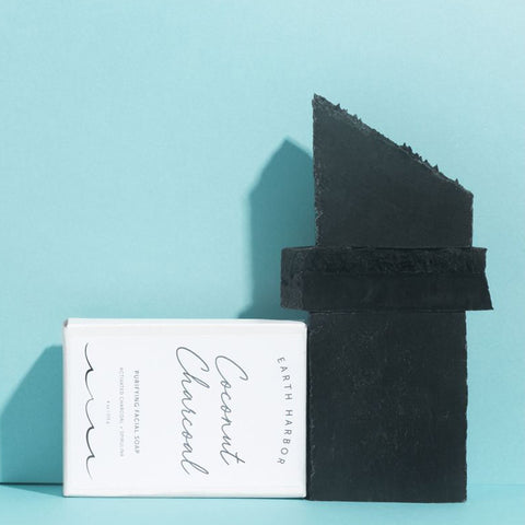 Coconut Charcoal Purifying Facial Soap - NUMS
