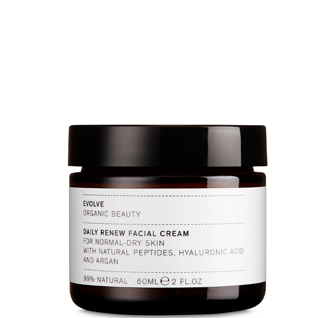 Daily Renew Facial Cream With Hyaluronic Acid and Argan