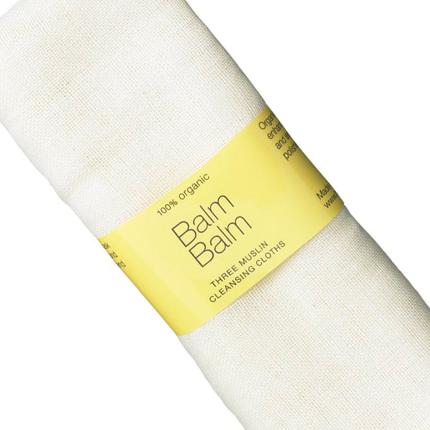 Organic Muslin Face Cloths 3 Stk.