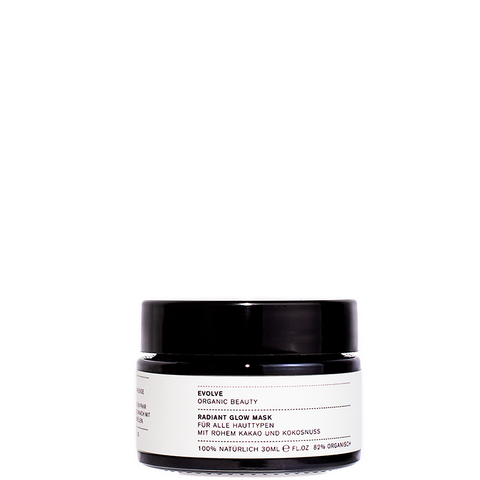 Radiant Glow Mask With Raw Cacao and Coconut 30ml