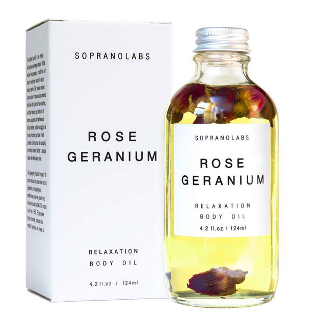 Rose Geranium Relaxation Body Oil - NUMS | Naturkosmetik & Clean Beauty | online kaufen