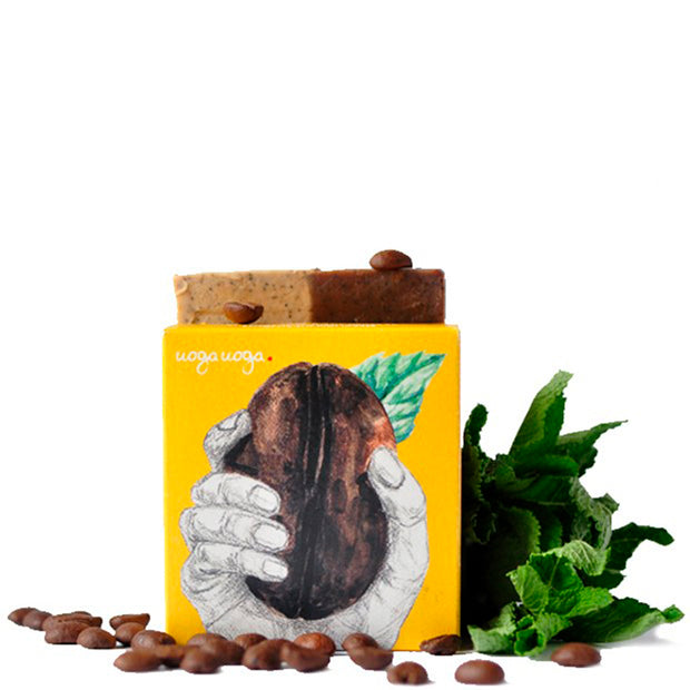 Care for Coffee? - Soap/ Scrub with Coffee and Mint