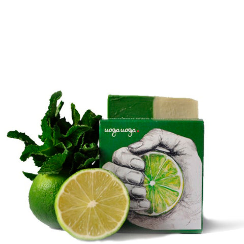 Lemon Squeezy - Soap with Mint and Lime Oils - NUMS | Naturkosmetik & Clean Beauty | online kaufen
