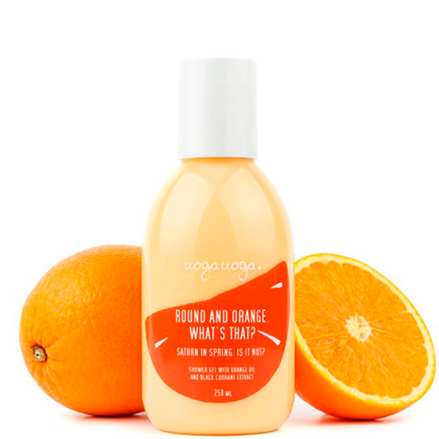 Round and Orange. What is that? - Duschgel - NUMS | Naturkosmetik & Clean Beauty | online kaufen