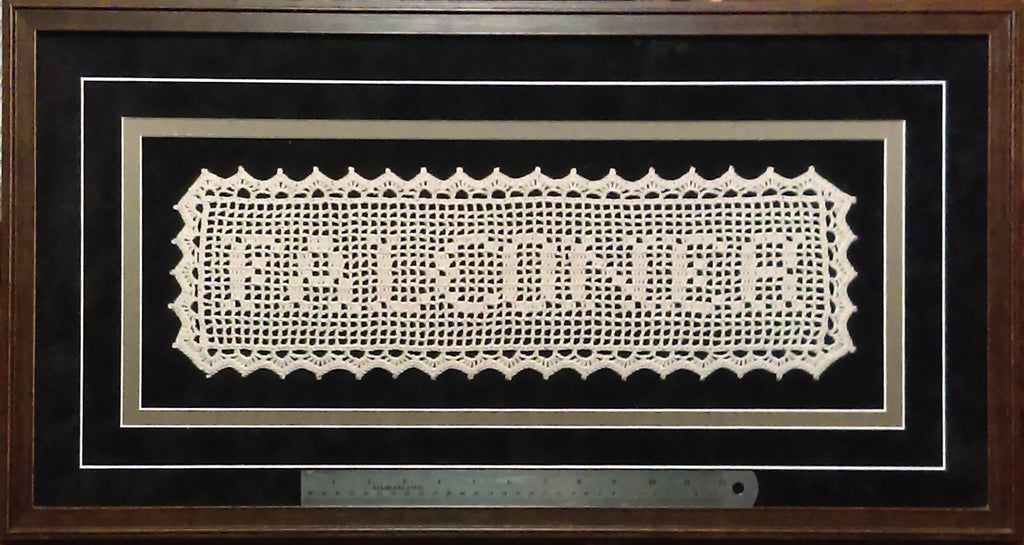 Welcome Filet Crochet Df Crafts