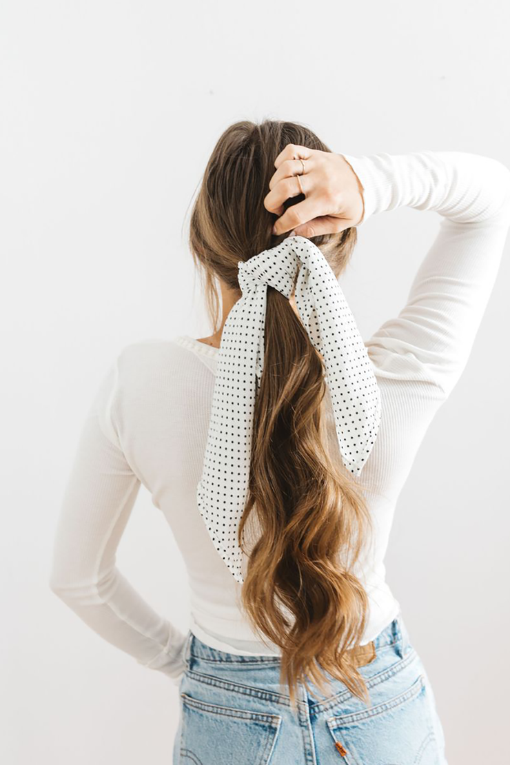 Poppy Seed Hair Scarf