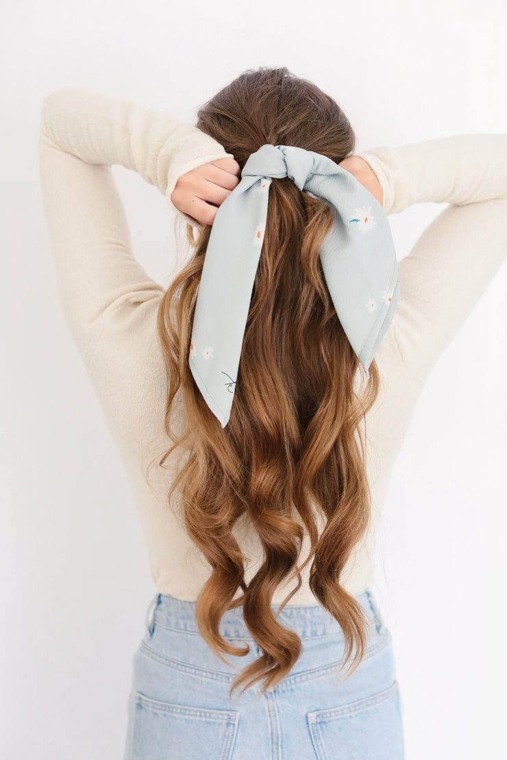 Cotton Scarf & Scrunchie Bundle