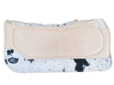 BEIGE WITH LIGHT HIDE SK SPINAL RELIEF SADDLE PAD