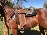 SK SPINE RELIEF BARREL CUT SADDLE PADS