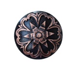 008 STANDARD CONCHO - Copper Decorative Flower