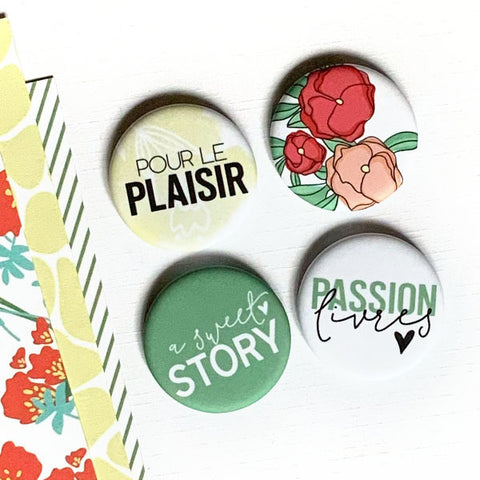 Badges Sweet story