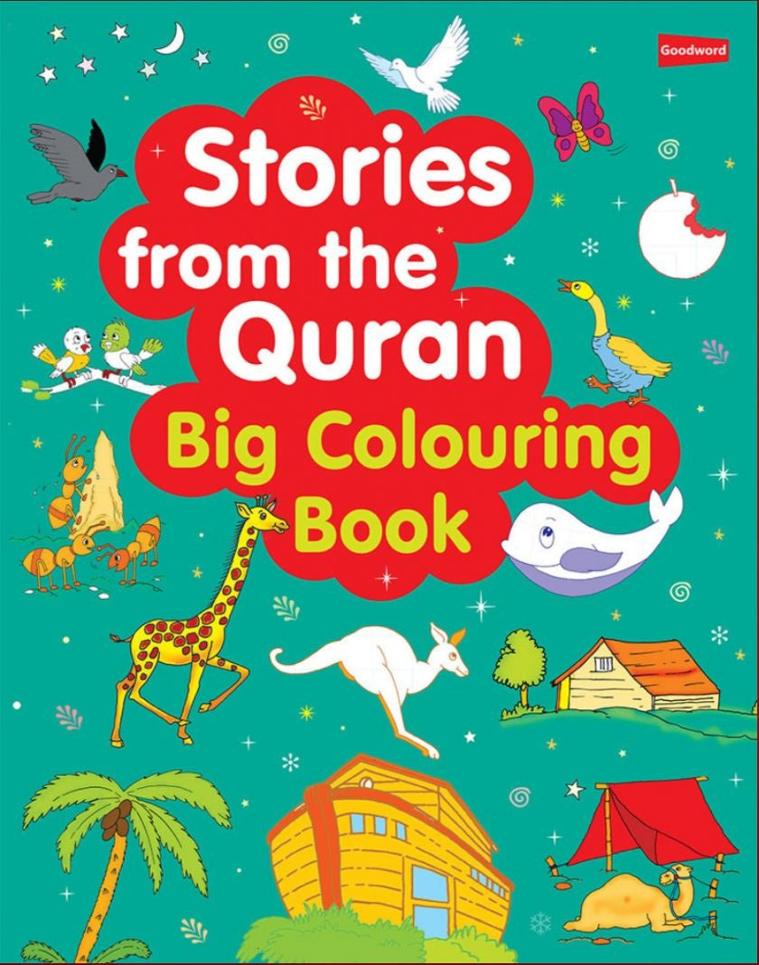 Stories From The Quran: Big Colouring Book