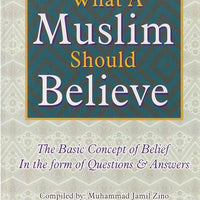 What A Muslim Should Believe-0