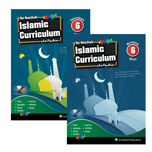An Nasihah Set 6 Boys (Textbook and Workbook) (for Grade 7 Boys)