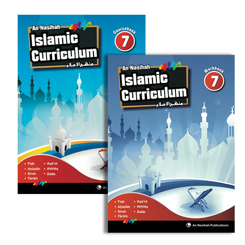 An Nasihah Set 7 (Textbook and Workbook) (for Grade 8 Students)