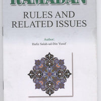 Ramadan Rules and Related Issues-0