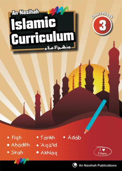 An Nasihah - Arabic & Islamic Curriculum Book-3(Textbook)