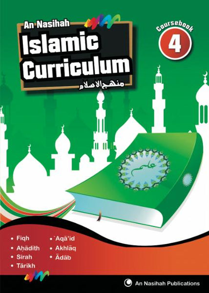 An Nasihah - Arabic & Islamic Curriculum Book 4(Textbook)