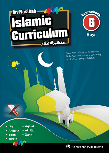 An Nasihah - Arabic & Islamic Curriculum Book-6(Textbook)