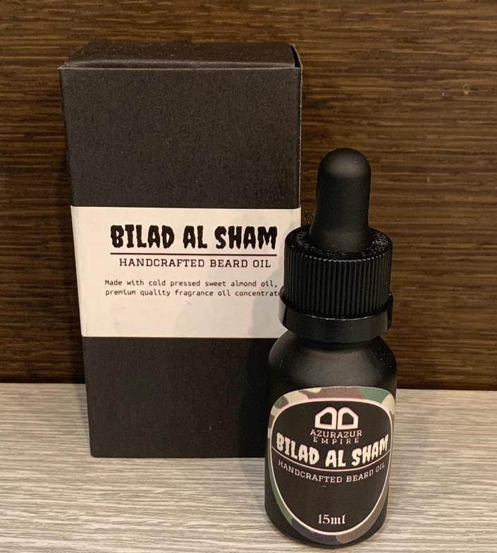 BILAD AL SHAM (Handcrafted Beard Oil) 15ml
