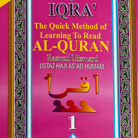 IQRA The Quick Method of Learning To Read Al-Quran 1-6 Book set