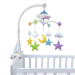 Moon & Stars Quran Cot Mobile with Light Projection desi doll australia darussalam dsbooks.com.au