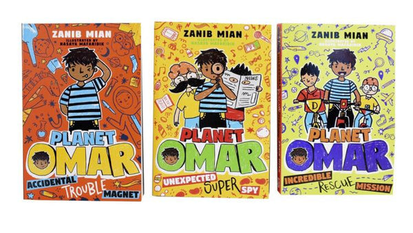 Planet Omar 3 Books Collection Set