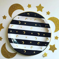 Black and Gold - Madina Design Plate Set