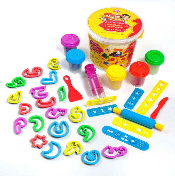 Fun Dough Arabic Letters-0