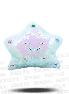 New My Dua Pillow - Blue/Silver
