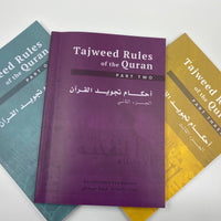 Tajweed Rules of the Quran (3 Part Set)
