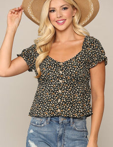 Floral Folklore Top