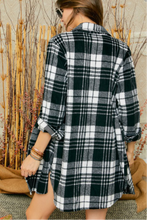 Load image into Gallery viewer, Flannel Plaid Shirt/Cardigan