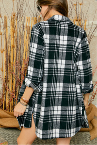 Flannel Plaid Shirt/Cardigan