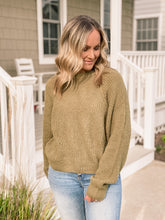 Load image into Gallery viewer, Autumn Olive Sweater