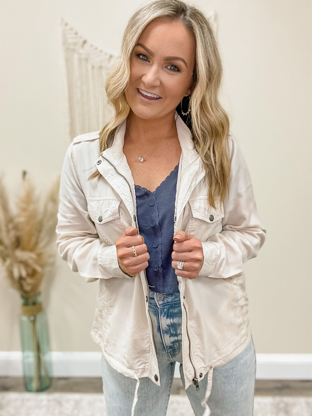 Simply Covered Lightweight Jacket