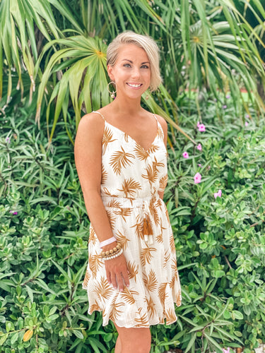 Escape to the Palms Dress