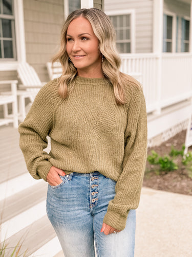 Autumn Olive Sweater