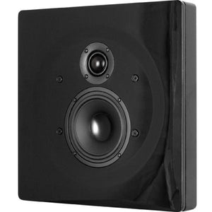 DLS-FLATBOXDONE-BLK-On-Wall-Speaker